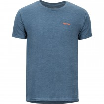 Marmot Vallemar Tee SS - Mens - Navy Heather