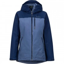 Marmot Solaris Waterproof Jacket - Women's - Storm/Arctic Navy