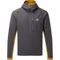 Mountain Equipment Switch Pro Hooded Jacket - Men's - Anvil Grey/Acid