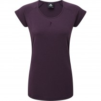 Mountain Equipment Women's Equinox Tee  - Blackberry