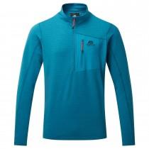 Mountain Equipment Lumiko Zip Tee - Men's Fleece - Alto Blue