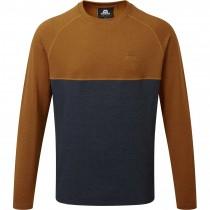 Mountain Equipment Rockall Crew Sweater - Cosmos/Pumpkin Spice