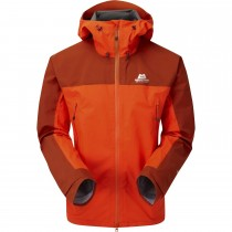 Mountain Equipment Saltoro Men's Waterproof Jacket - Magma/Bracken