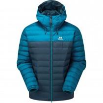 Mountain Equipment Superflux Insulated Jacket - Men's - Majolica Blue/Mykonos Blue