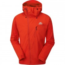 Mountain Equipment Squall Hooded Jacket - Cardinal Orange