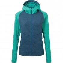 Mountain Equipment Fornax Hooded Jacket - Women's - Majolica/Deep Green