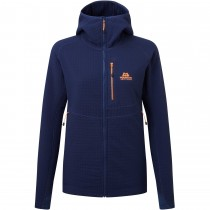 Mountain Equipment Shroud Hooded Jacket - Women's Fleece - Medieval Blue