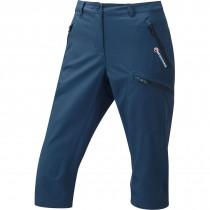 Montane Women's Dyno Stretch Capri Pants - Narwhal Blue