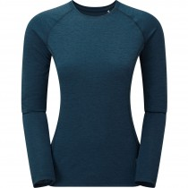 Montane Dart Women's Long Sleeve T-Shirt - Narwhal Blue