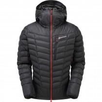 Montane Ground Control Insulated Jacket - Men's - Black/Alpine Red