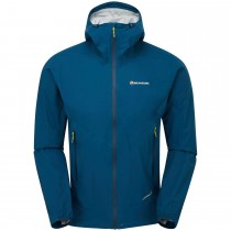 Montane Minimus Stretch Ultra Waterproof Jacket - Men's - Narwhal Blue