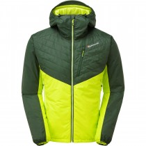 Montane Prism Insulated Jacket - Men's - Arbor Green/Citrus Green
