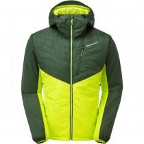 Montane Prism Insulated Jacket - Men's - Arbor Green/Citrus Green