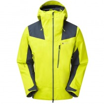Montane Alpine Resolve Waterproof Jacket - Men's - Citrus Green/Astro Blue