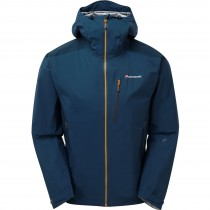 Montane Fleet Jacket - Narwhal Blue/Inca Gold