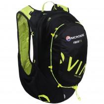 Montane Via Razor 15 Trail Running Speedpack - Black/Laser Green