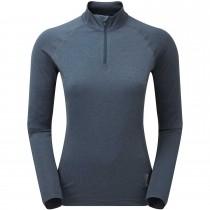 Montane Dart Thermo Zip Neck T-Shirt - Women's - Astro Blue