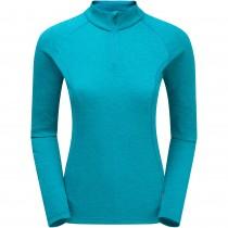 Montane Dart Men's Zip-Neck T-shirt - Blue Ridge