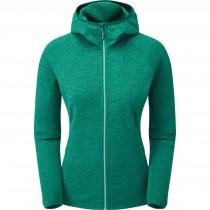 Montane Protium Hoodie - Women's Fleece - Wakame Green/Matcha Green