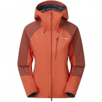 Montane Alpine Resolve Waterproof Jacket - Women's - Paprika/Uluru Red
