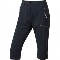 Montane Women's Dyno Stretch Capri Pants - Black