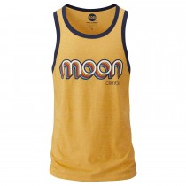 Moon Retro Ringer Vest - Men's - Gold/Indigo