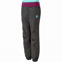 Moon Women's Samurai Pants - Charcoal - Front