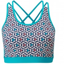 Moon Helius Bra Top - Bluebird Print