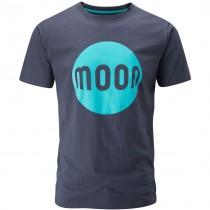 Moon Logo Tee - Moon Indigo