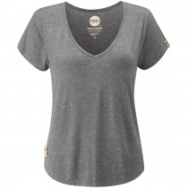 Moon Lyra T-Shirt - Dark Grey Marl