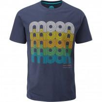 Moon Fade Logo T-Shirt - Men's - Indigo