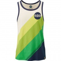 Moon Retro Stripe 159 Vest - Men's - Stone