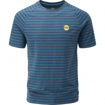 Moon Striped Bamboo Tech T-Shirt - Men's - Indigo/Midnight