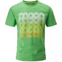 Moon Fade Logo T-Shirt - Vibrant Green