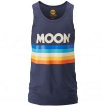 Moon Retro Stripe Vest - Moon Indigo