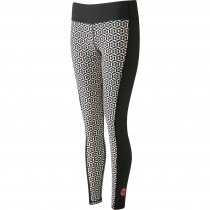 Moon Sigma Leggings - Women's - Black Geo Print