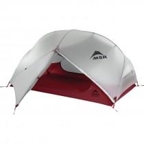 MSR - Hubba Hubba NX Tent - Grey - Fly open