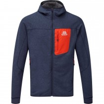 Mountain Equipment Pivot Hooded Fleece Jacket - Ombre Blue