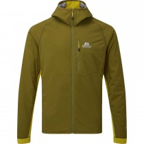 Mountain Equipment Switch Pro Hooded Jacket - Fir Green/Acid