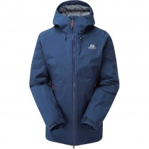 Mountain Equipment Triton Waterproof Down Jacket - Denim Blue
