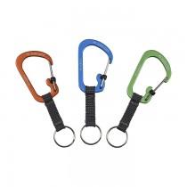 SlideLock Key Ring Aluminium