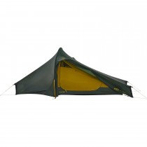Nordisk Telemark 2.2 Lightweight Tent - Forest Green/Mustard Yellow/Black