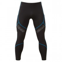 OMM Flash Winter Men's Running Tights - Black/Blue