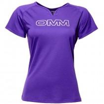 OMM Women's Trail Tee - Purple