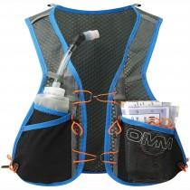 OMM TrailFire Vest Running Pack - Blue Front