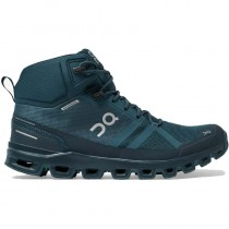 On Running Cloudrock Waterproof Hiking Boot - Men's - Navy/Midnight