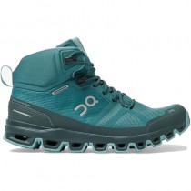 On Running Cloudrock Waterproof Hiking Boot - Women's - Storm/Wash