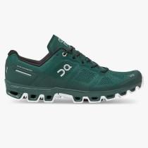 On Running Cloudventure Running Shoe - Men's - Evergreen/White