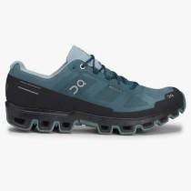 On Running Cloudventure Waterproof Running Shoe - Men's - Storm/Cobble