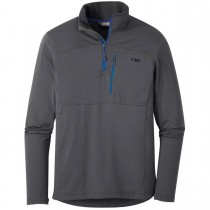 Outdoor Research Vigor Quarter Zip Fleece - Men's - Storm
